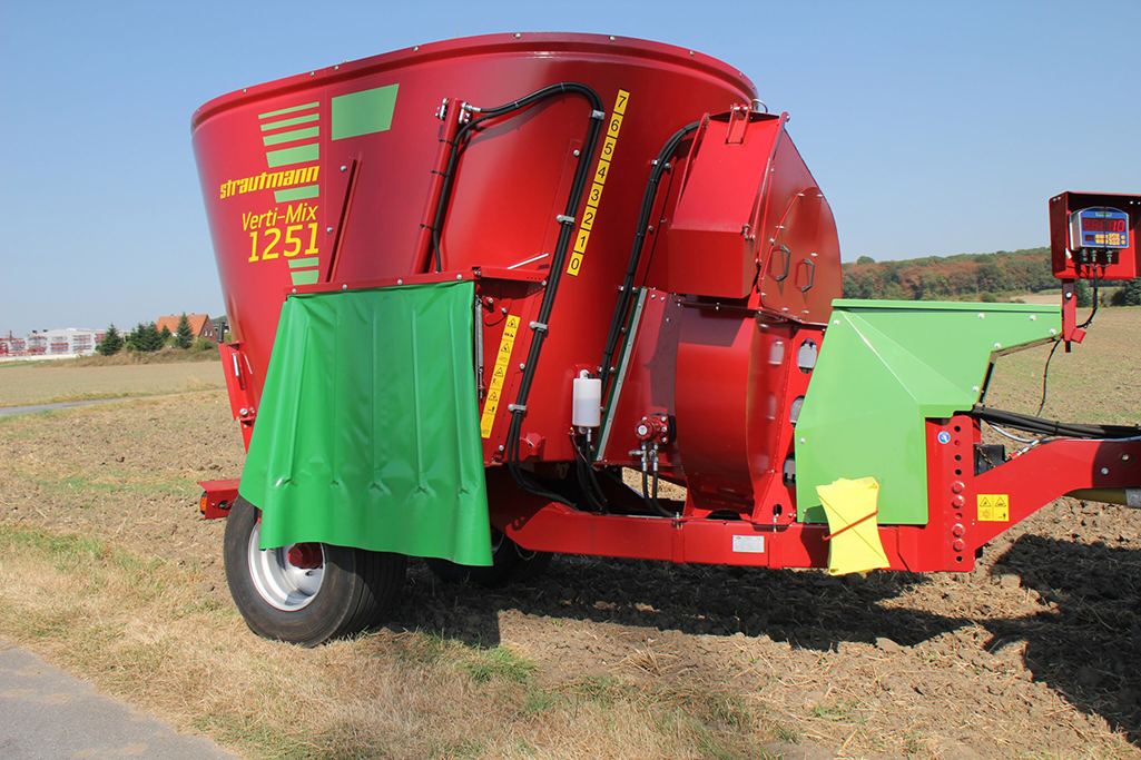 Straw Blower Verti-Mix