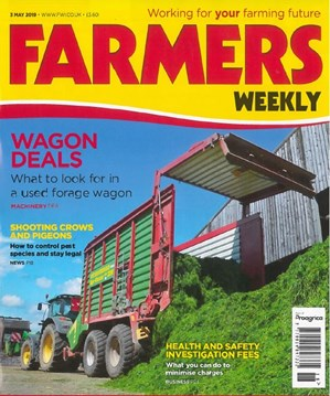 Farmers Weekly front cover 3/5/19