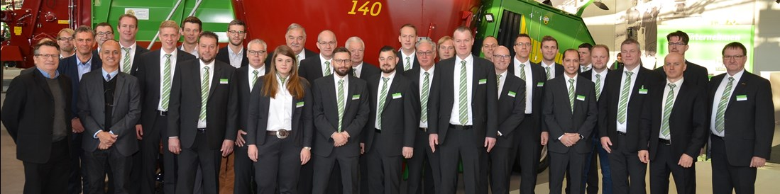 Strautmann team at Agritechnica 2019